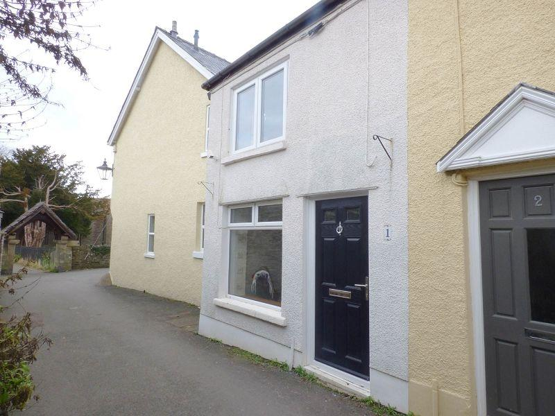 2 Bedrooms End Of Terrace House for sale in Church Lane, Crickhowell, Powys.