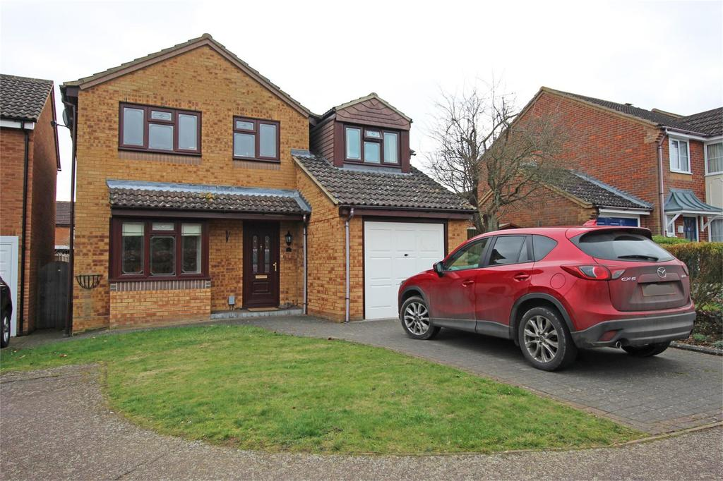 4 Bedrooms Detached House for sale in Uplands, Stevenage, Hertfordshire