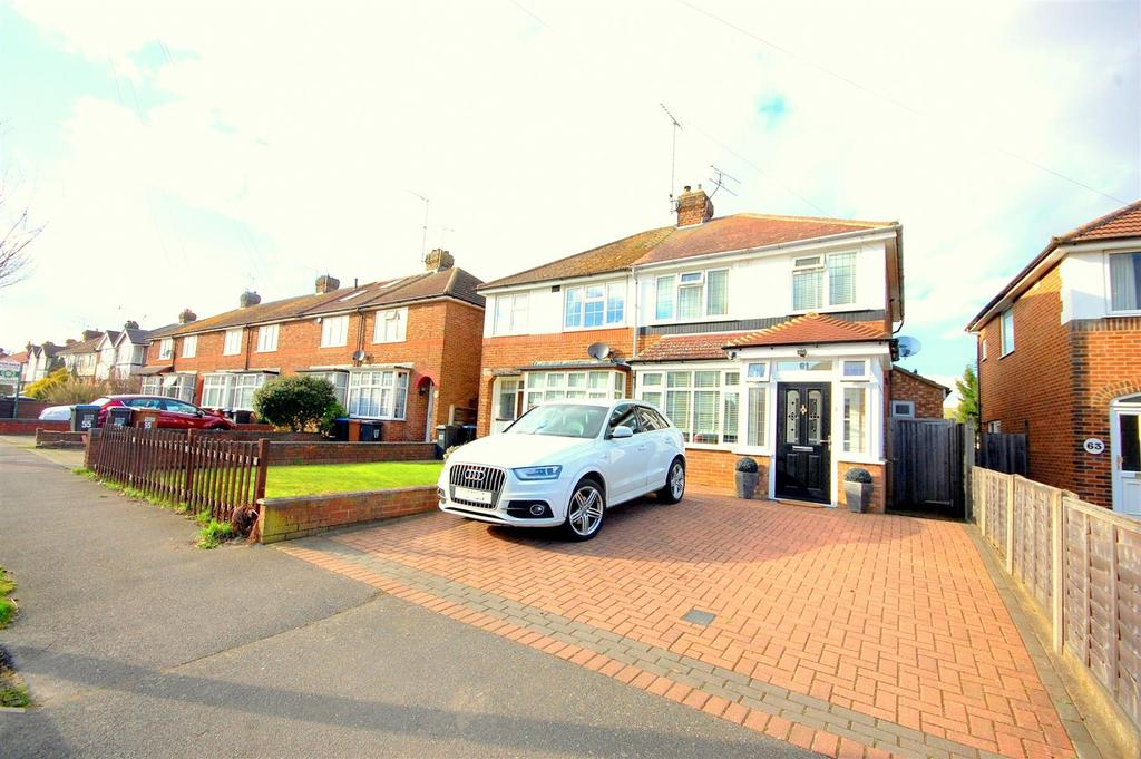 4 Bedrooms Semi Detached House for sale in Heathcote Avenue, Hatfield