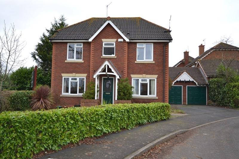 4 Bedrooms Detached House for sale in Vimiera Close, Norton, Worcester