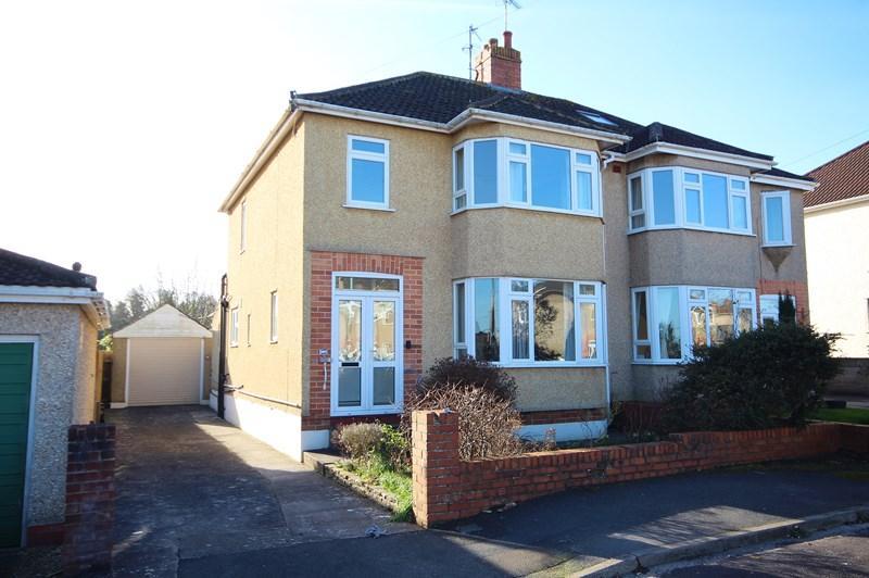 3 Bedrooms Semi Detached House for sale in Somerville Close, Saltford, Bristol