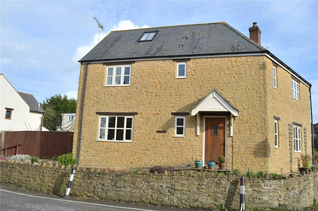 4 Bedrooms Semi Detached House for sale in Crosskeys Cottages, High Street, Broadwindsor, Beaminster