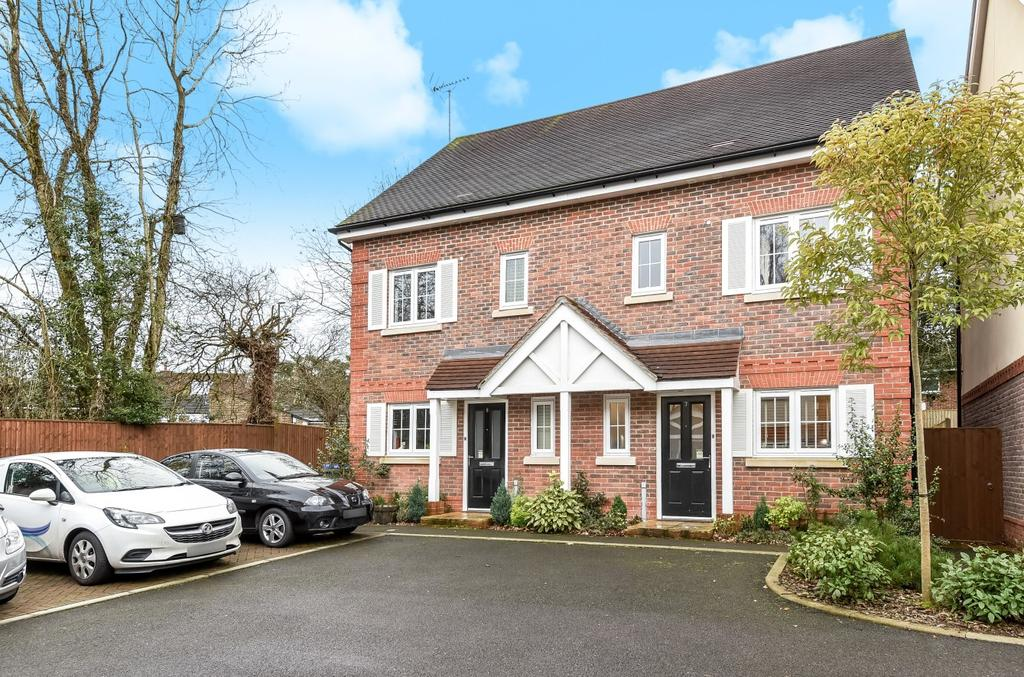 3 Bedrooms Semi Detached House for sale in Rutherford Way, Horsham, RH12