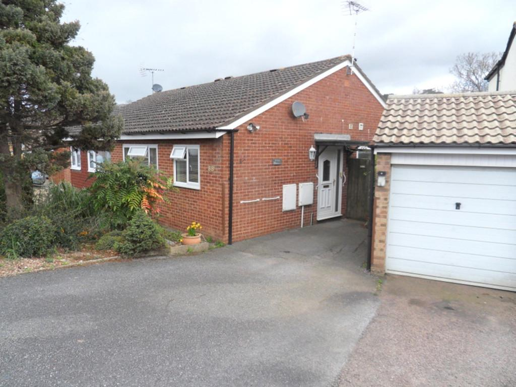 2 Bedrooms Semi Detached Bungalow for sale in Valley Way, Exmouth