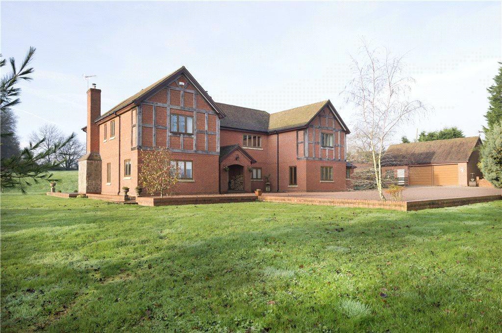 5 Bedrooms Detached House for sale in Acton Beauchamp, Worcester, Worcestershire, WR6