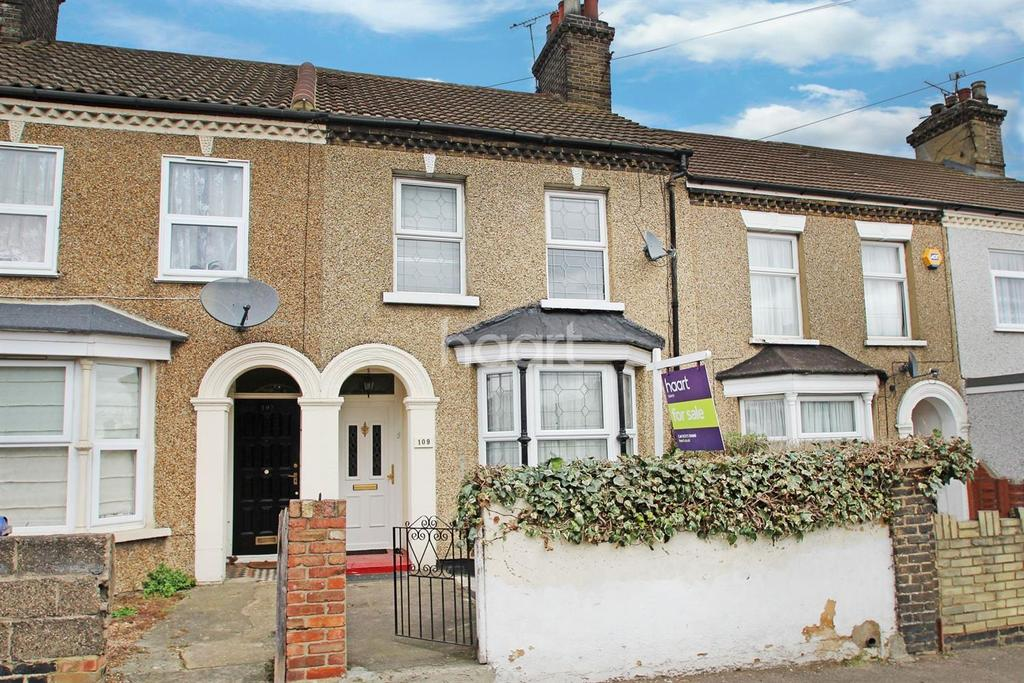 3 Bedrooms Terraced House for sale in Grove Road, Grays, RM17