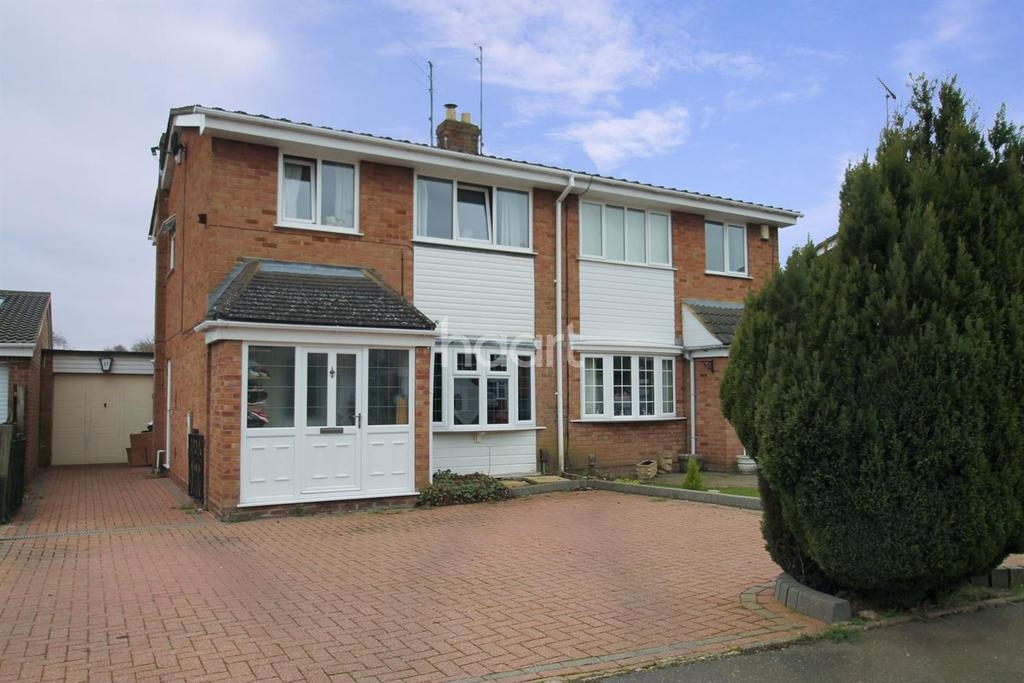 3 Bedrooms Semi Detached House for sale in Rookery Lane, Kingsthorpe, Northampton