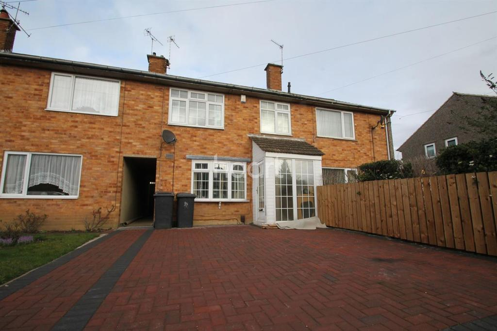 3 Bedrooms Terraced House for sale in Tatlow Road, Glenfield, Leicester