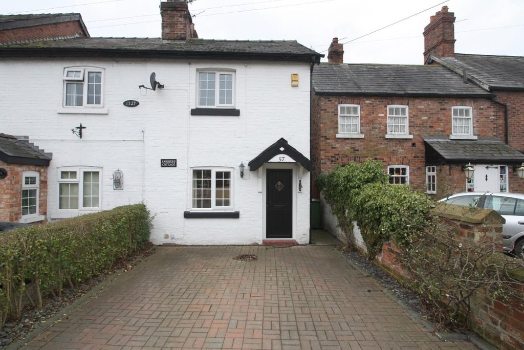2 Bedrooms Semi Detached House for sale in Farriers Cottage, Acton Bridge CW8 3RA