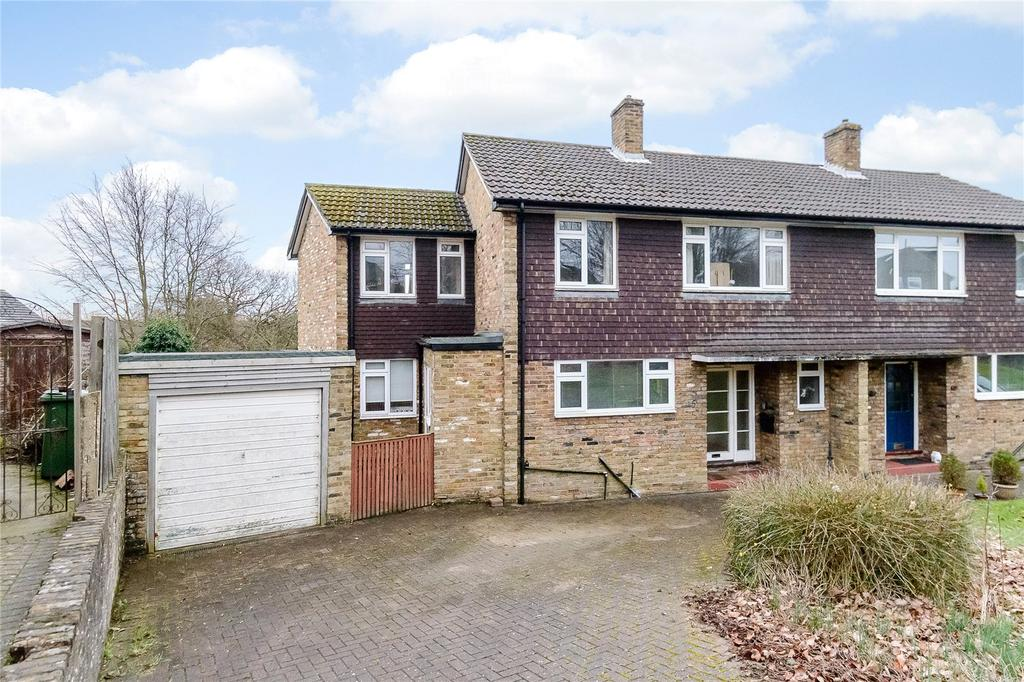 4 Bedrooms Semi Detached House for sale in Jerome Drive, St. Albans, Hertfordshire