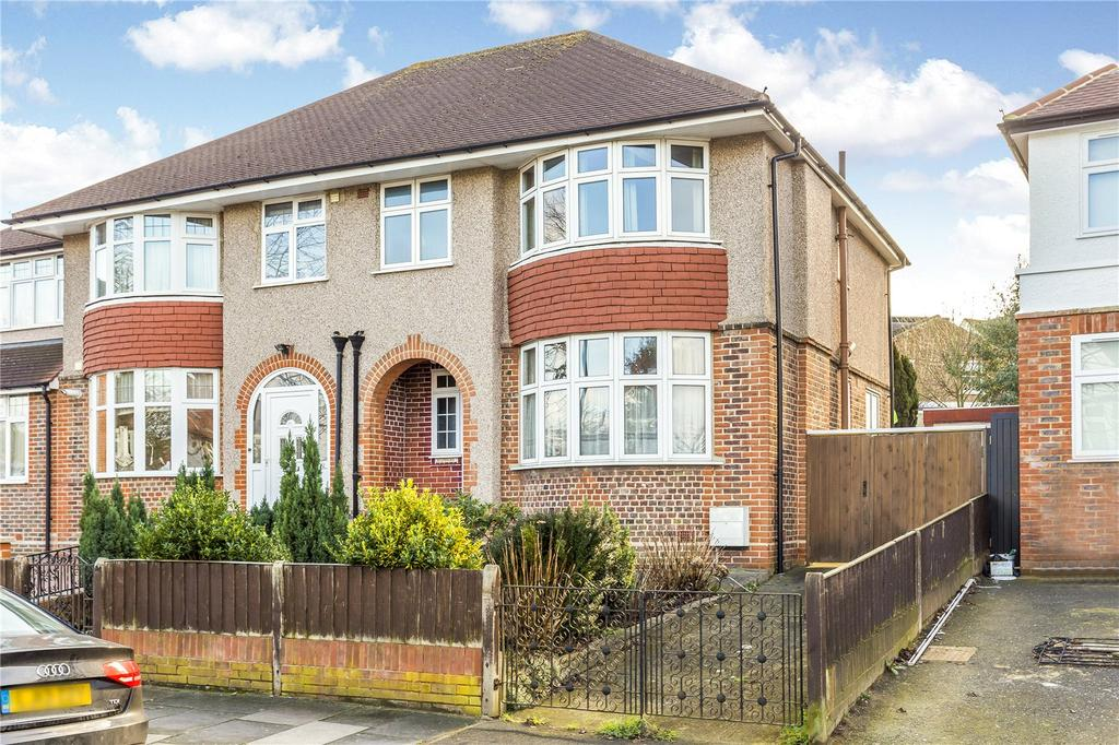 3 Bedrooms Semi Detached House for sale in Cleveland Road, London, W13