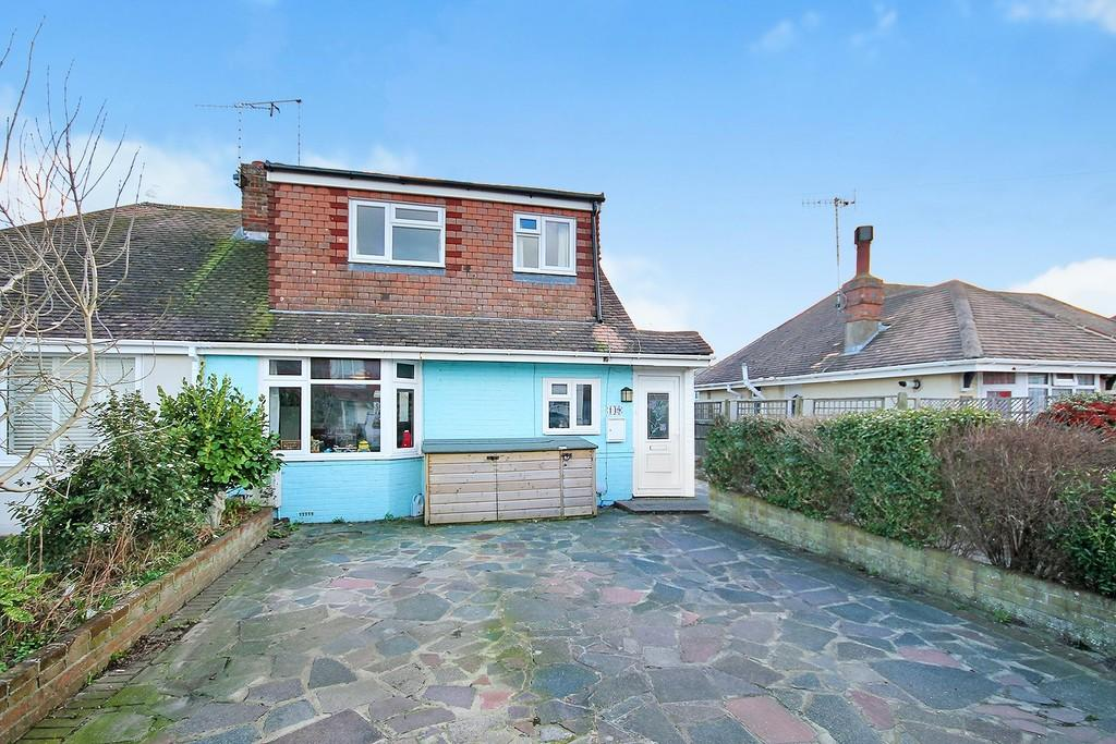 3 Bedrooms Semi Detached Bungalow for sale in West Way, Lancing, BN15 8NB