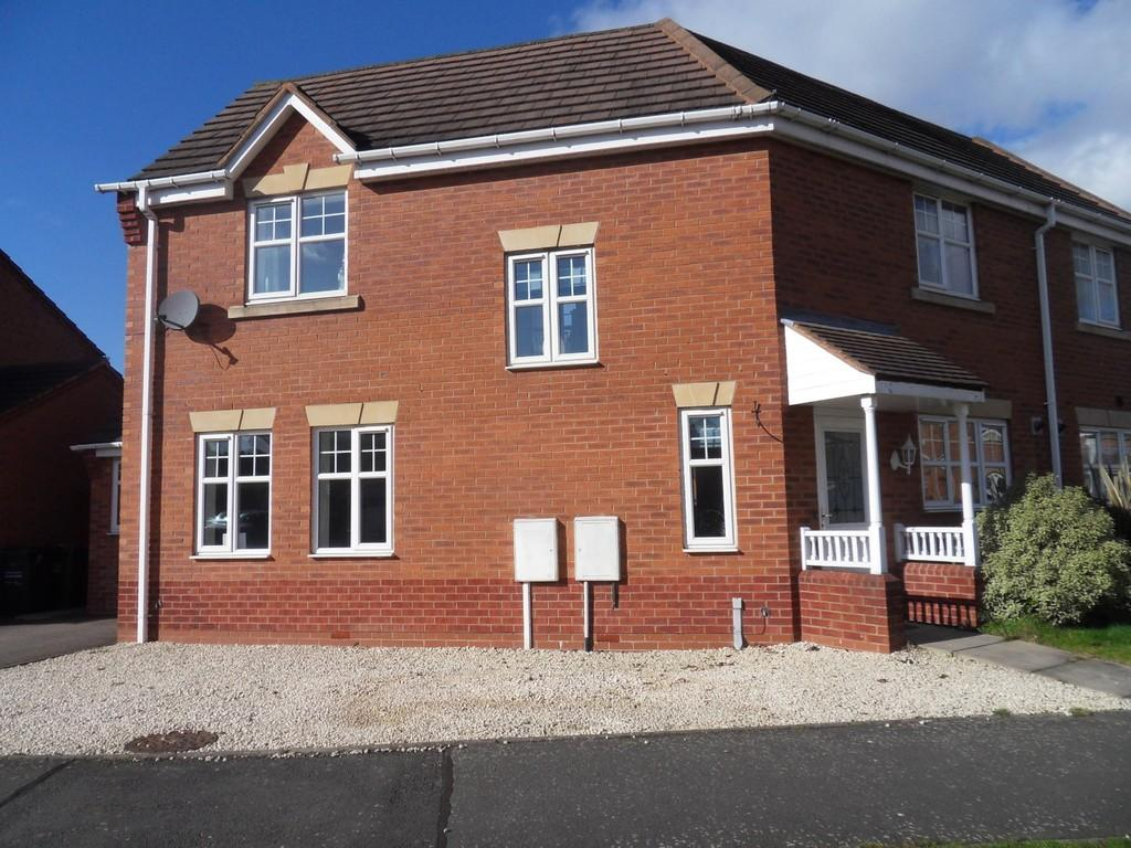3 Bedrooms Semi Detached House for sale in Normanton Drive, Loughborough