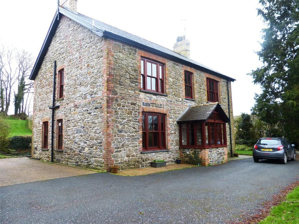 5 Bedrooms Detached House for sale in Penderi, Llanfallteg, Whitland, Pembrokeshire