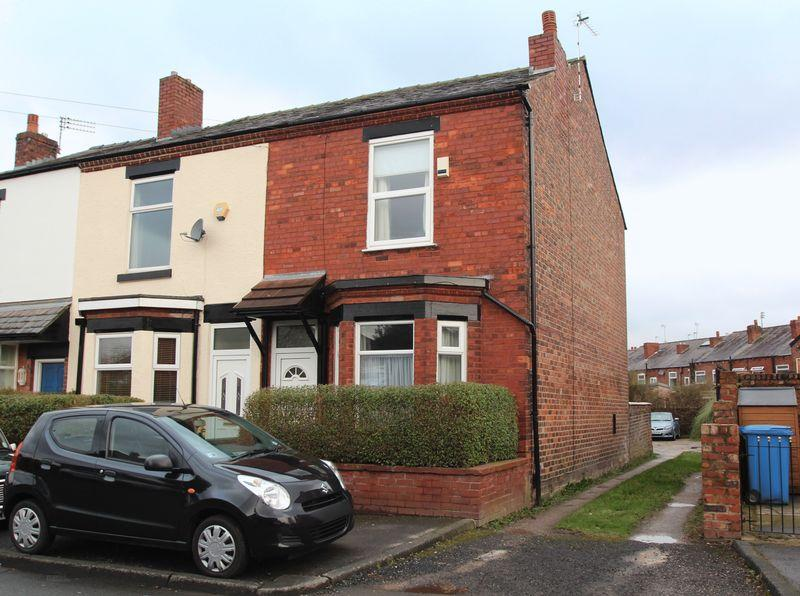 2 Bedrooms End Of Terrace House for sale in Brimelow Street, Bredbury