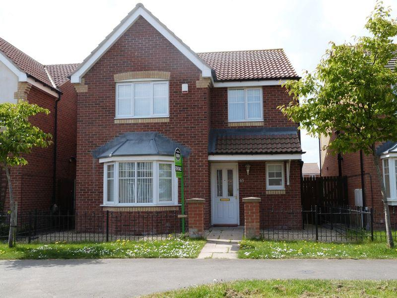 4 Bedrooms Detached House for sale in Rothbury Drive, Ashington, Four Bedroom Detached House