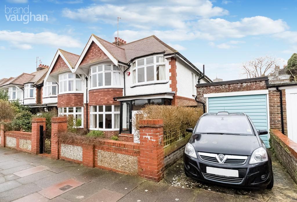 4 Bedrooms Semi Detached House for sale in Bavant Road, Brighton, BN1
