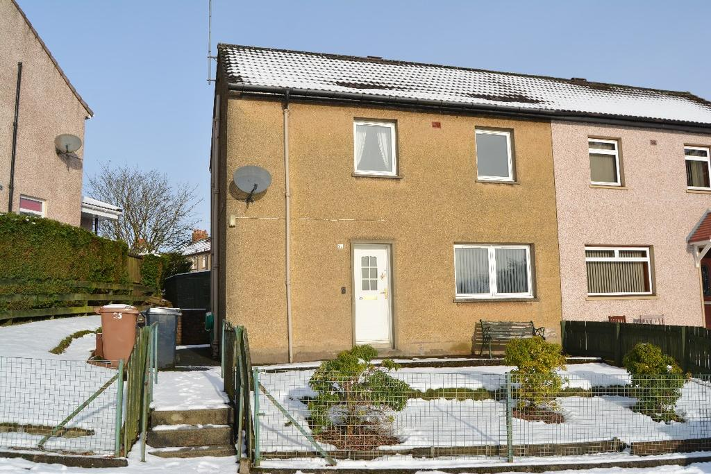 3 Bedrooms Semi Detached House for sale in Darrach Drive, Fankerton, Denny, FK6 5HU