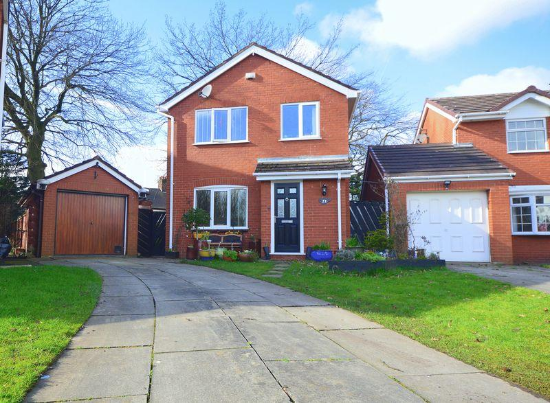 4 Bedrooms Detached House for sale in Grangewood, Childwall