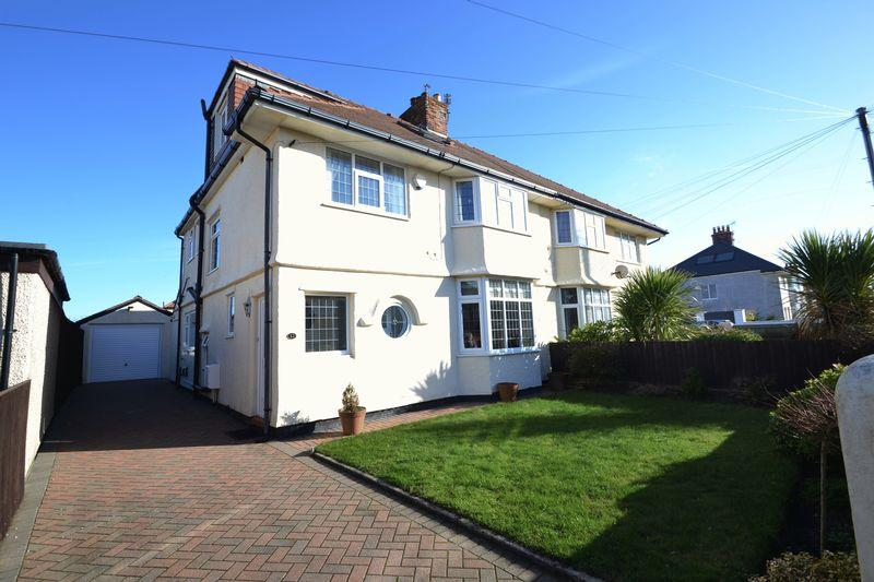 4 Bedrooms Semi Detached House for sale in Wynstay Road, Meols