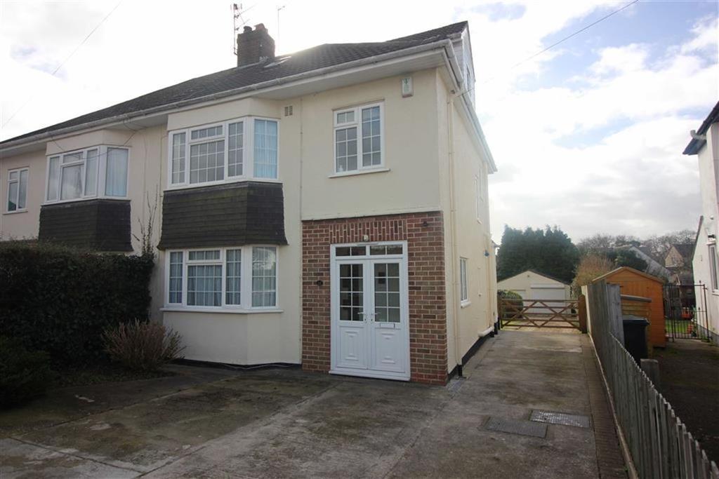 4 Bedrooms Semi Detached House for sale in Haytor Park, Stoke Bishop, Bristol