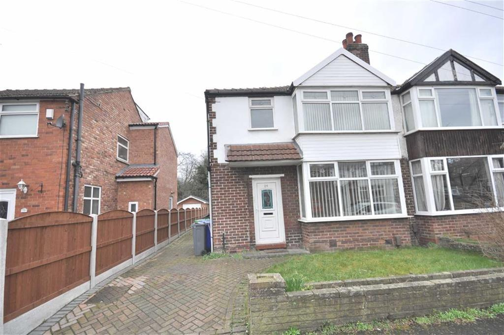 3 Bedrooms Semi Detached House for sale in Saddlewood Avenue, Didsury, Manchester, M19