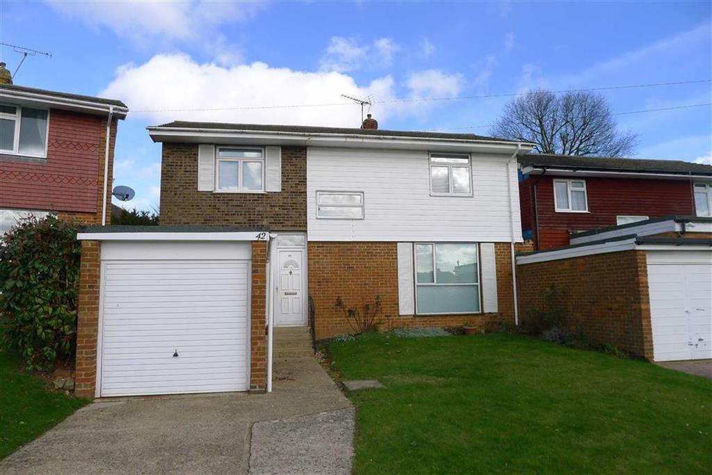 4 Bedrooms Link Detached House for sale in Queendown Avenue, Rainham, Kent, ME8