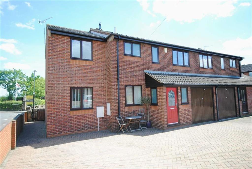 5 Bedrooms Semi Detached House for sale in Longdike Court, Kippax, Leeds, LS25