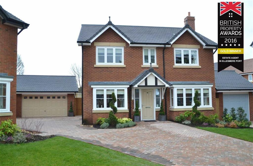 4 Bedrooms Detached House for sale in Bronte Walk, Backford, CH1