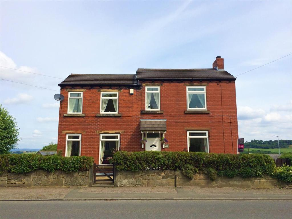 3 Bedrooms Detached House for sale in Wakefield Road, Lepton, Huddersfield, HD8 0LU
