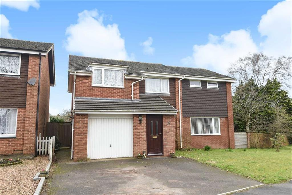 5 Bedrooms Detached House for sale in Mount Close, Honiton, Devon, EX14