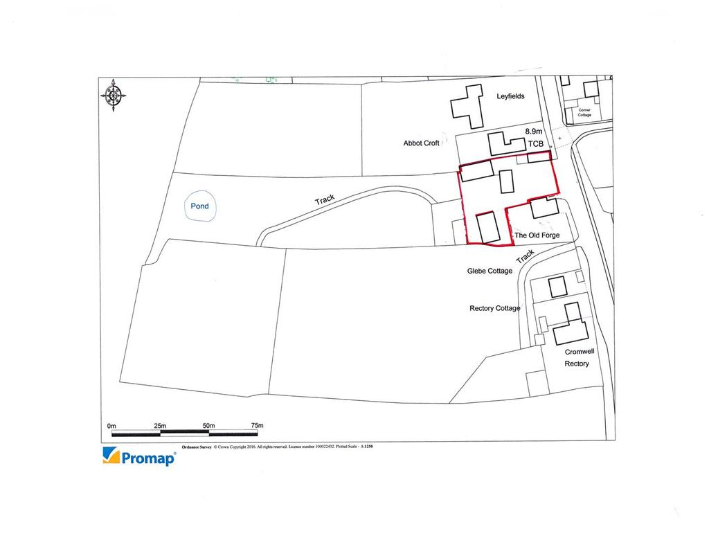 Land Commercial for sale in Great North Road, Cromwell, Newark