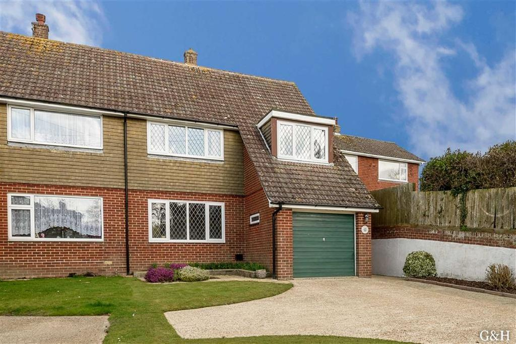 3 Bedrooms Semi Detached House for sale in Swan Lane, Sellindge, Nr Ashford