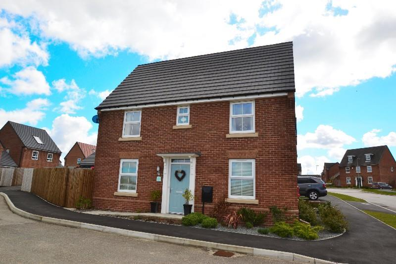 3 Bedrooms Detached House for sale in Ripley Close, Spennymoor