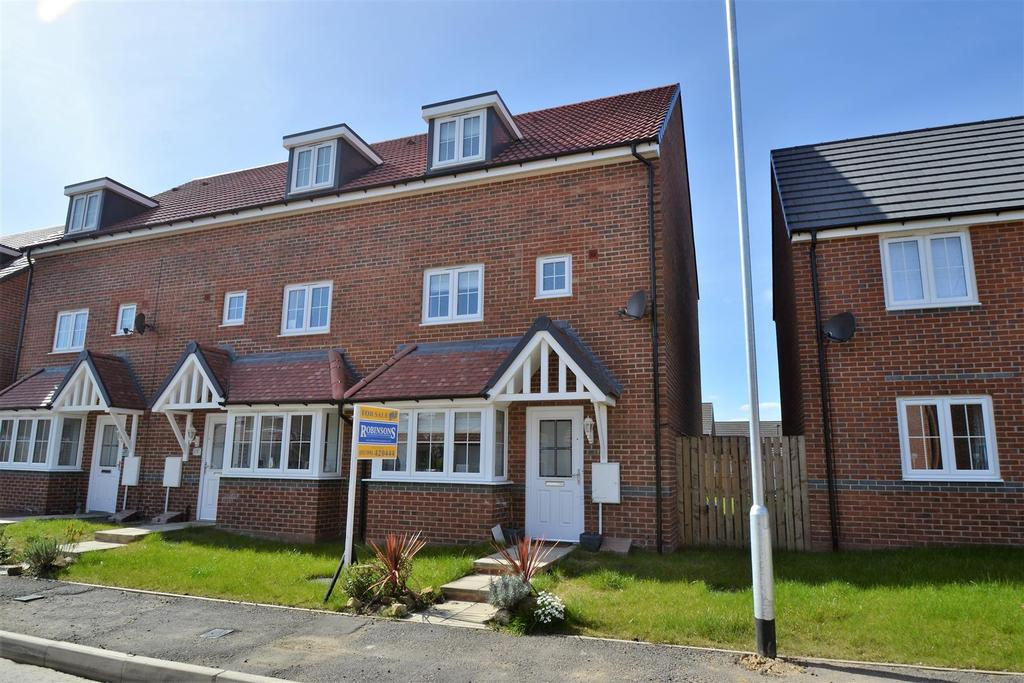 4 Bedrooms Semi Detached House for sale in Morgan Drive, Spennymoor
