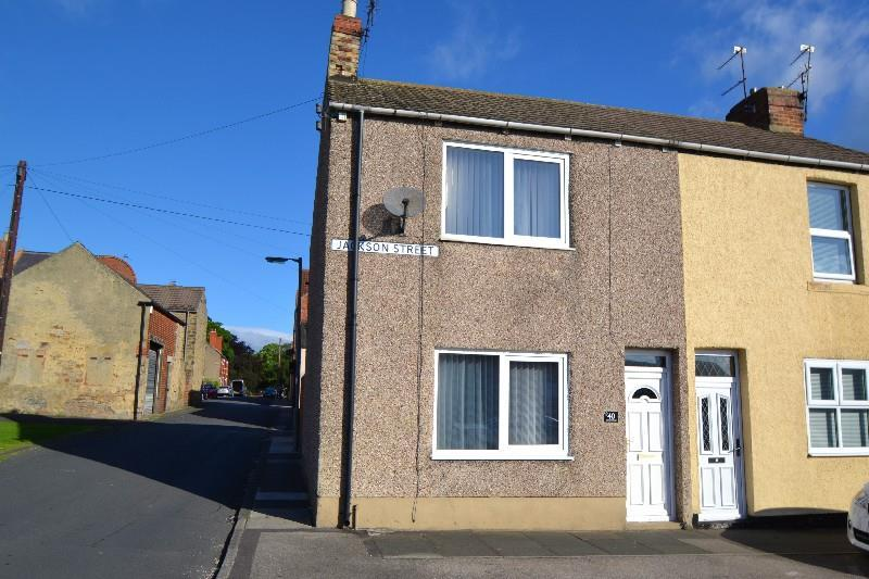 2 Bedrooms End Of Terrace House for sale in Jackson Street, Spennymoor