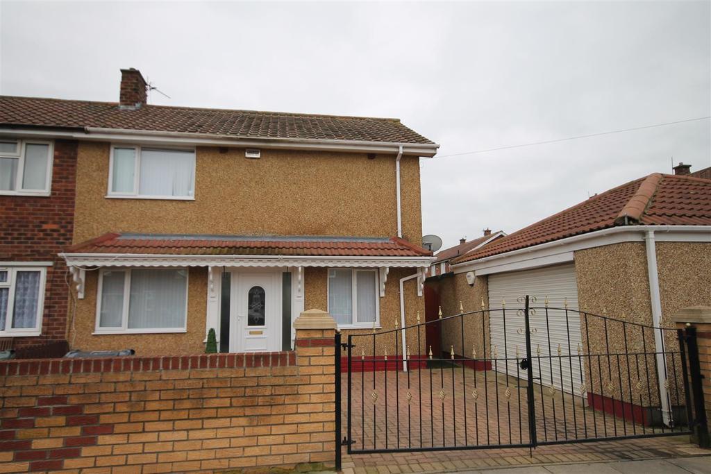 3 Bedrooms Semi Detached House for sale in Burnside Road, Darlington