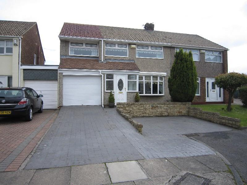 4 Bedrooms Semi Detached House for sale in Caistor Drive, Hartlepool