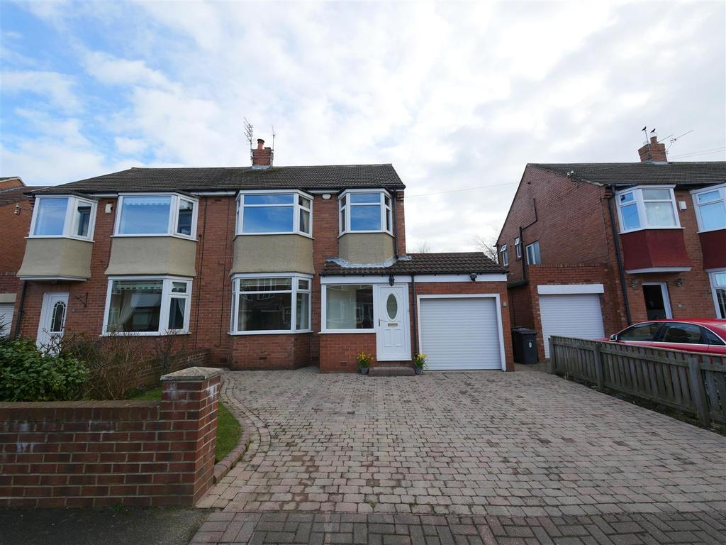 3 Bedrooms Semi Detached House for sale in Woodlands Drive, Cleadon, Sunderland