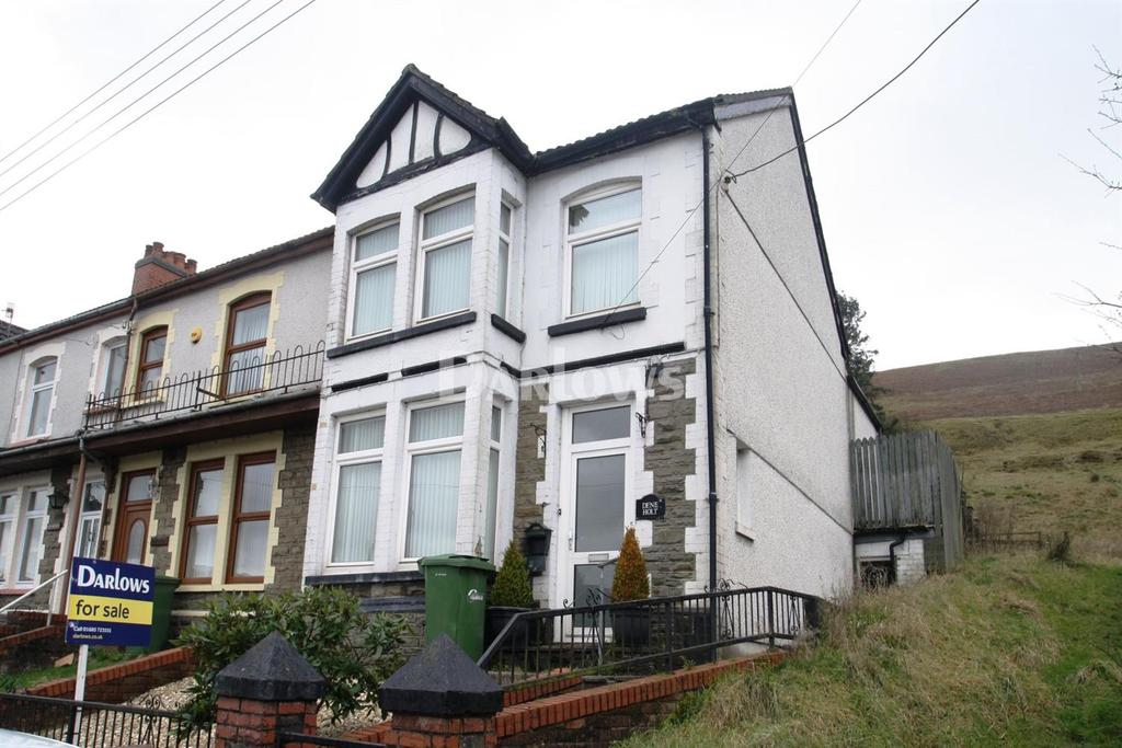 3 Bedrooms End Of Terrace House for sale in Southend Terrace Pontlottyn