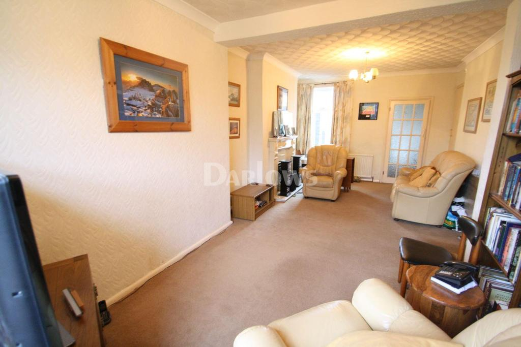 2 Bedrooms End Of Terrace House for sale in John Street, Willowtown, Tredegar, Gwent