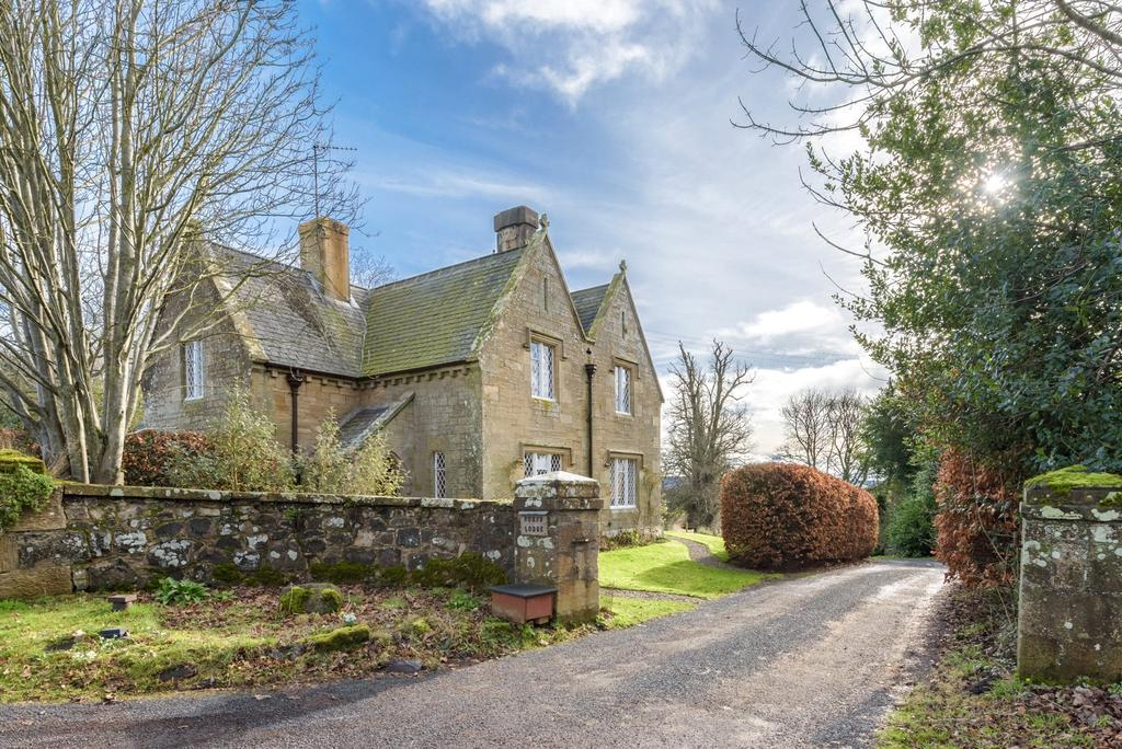 4 Bedrooms Detached House for sale in North Lodge and Woods, Monimail, Cupar, Fife, KY15
