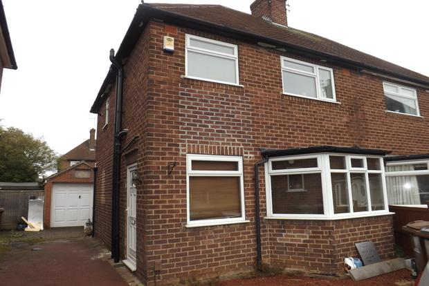 2 Bedrooms Semi Detached House for sale in Manville Close, Beechdale, Nottingham, NG8