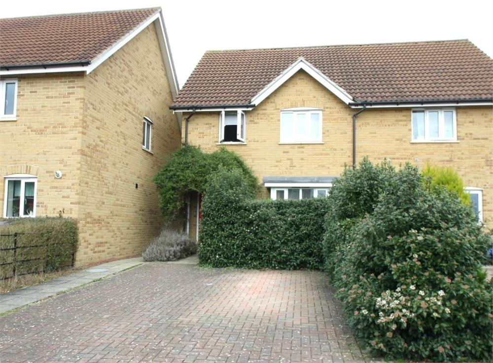 3 Bedrooms Semi Detached House for sale in Clibbon Court, Butt Road, Great Cornard, SUDBURY, Suffolk