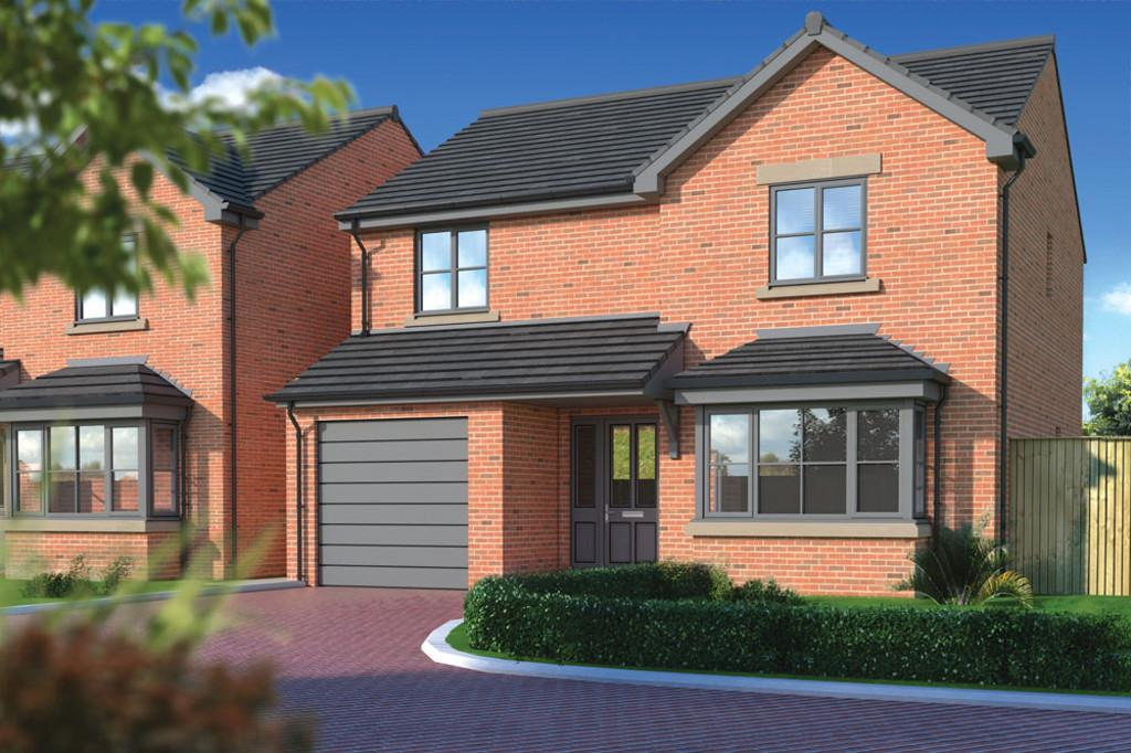 4 Bedrooms Detached House for sale in The Lichfield, Suttle Gardens, Carlisle