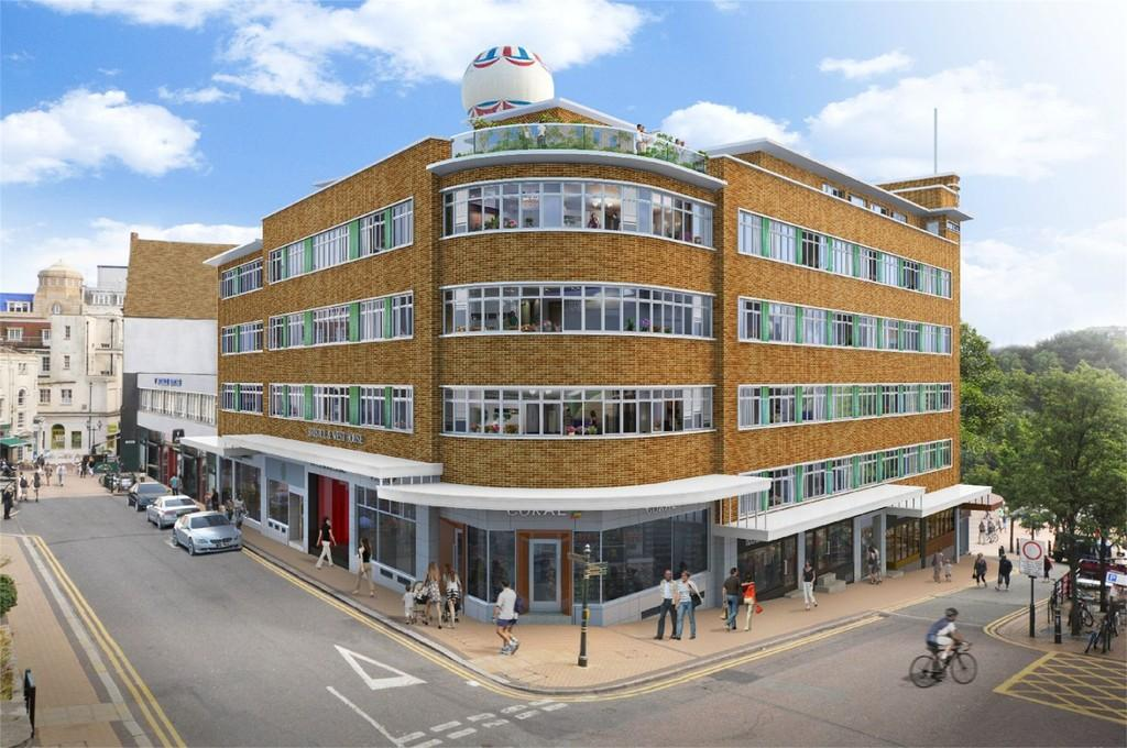 2 Bedrooms Apartment Flat for sale in Bristol West House, Post Office Road, BOURNEMOUTH