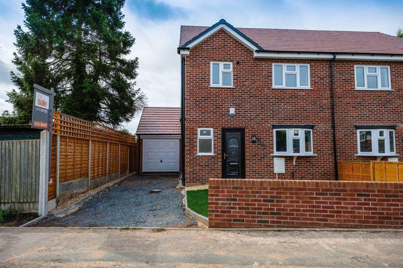 3 Bedrooms Semi Detached House for sale in Plot 1, Lynton Avenue, Wolverhampton