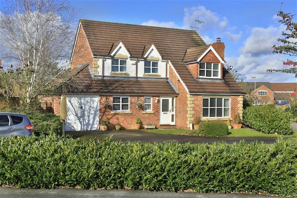 4 Bedrooms Detached House for sale in Dunnillow Field, Nantwich, Cheshire