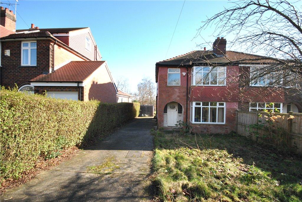 3 Bedrooms Semi Detached House for sale in The Drive, Adel, Leeds
