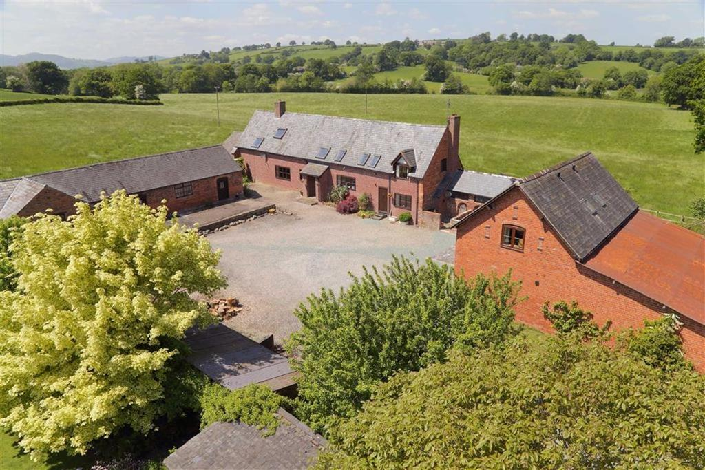 6 Bedrooms Country House Character Property for sale in Sarnau, Llanymynech, SY22